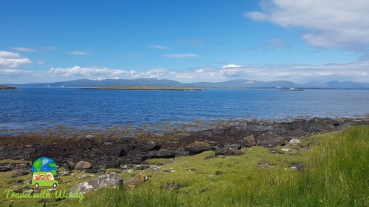 Views of the islands - Argyll