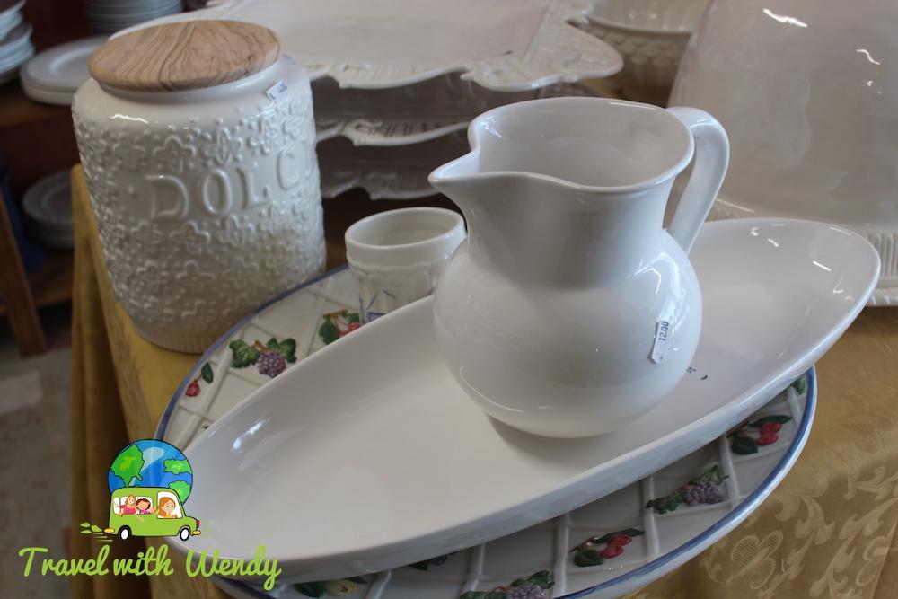 My Italian pottery buys! - Nove shopping