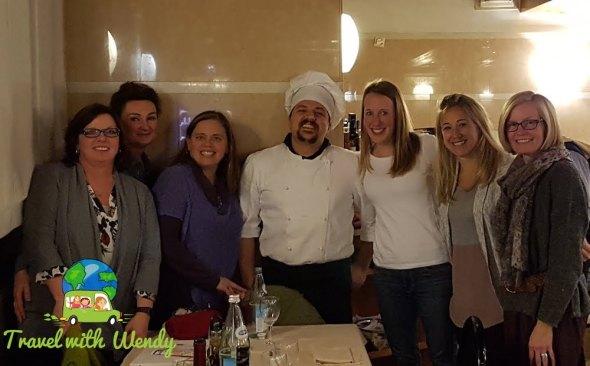 Our Chef at Capri Bella