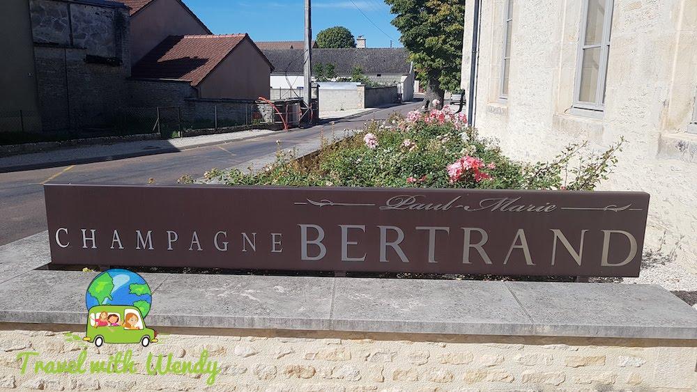 Champagne Paul Marie Bertrand - BIG SIGN
