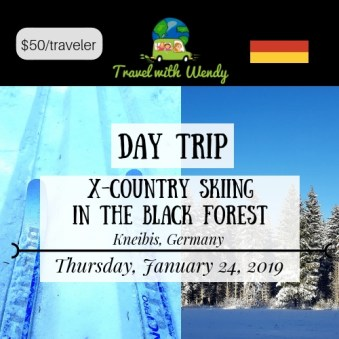 DAY TRIP - X-COUNTRY SKIING JAN 24