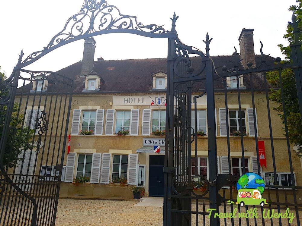 Hotel de Ville - Ervy le Chatel - France