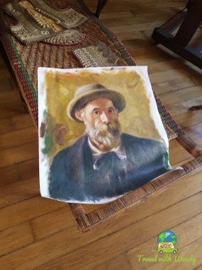 Self-portraits Renoir