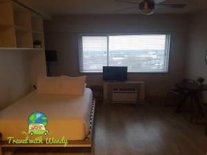 Bedroom & living room studio