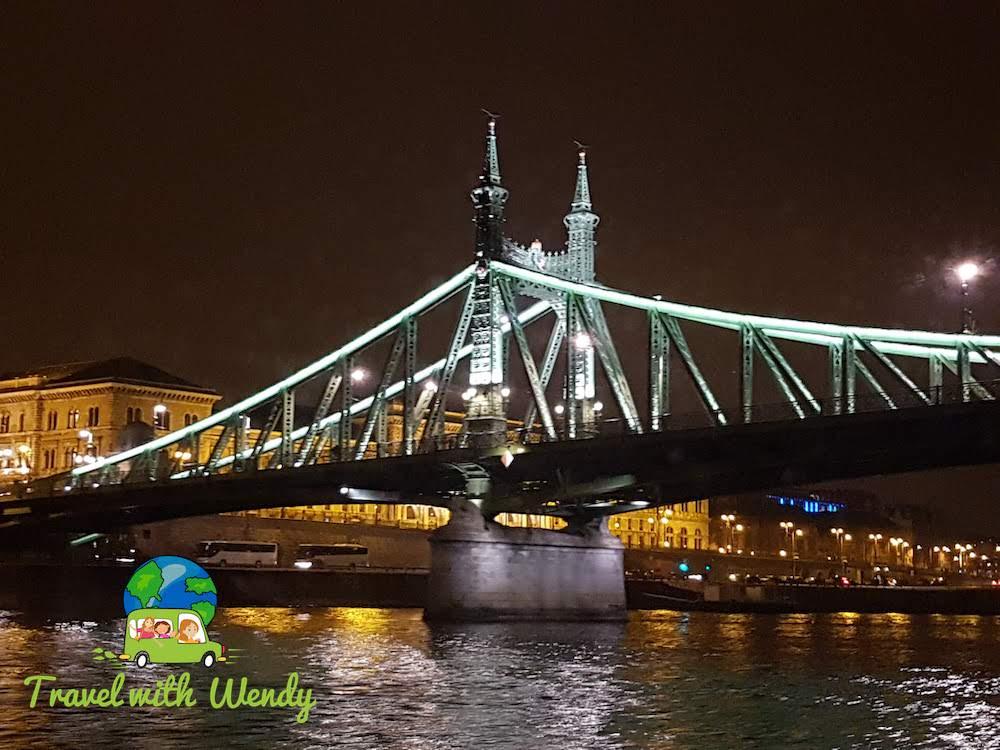 Chain Bridge in Budapest copy