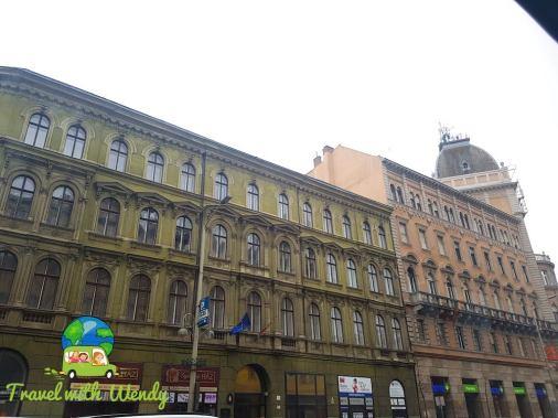 Baroque buildings of color