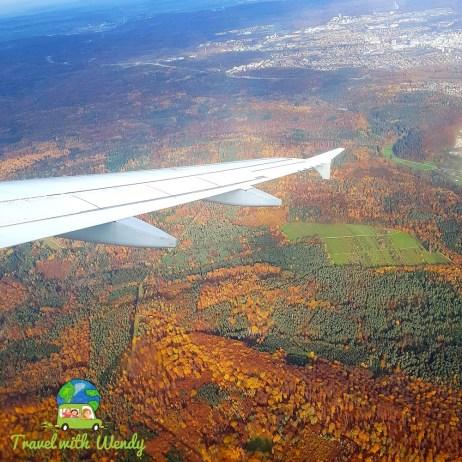 Flying to Estonia