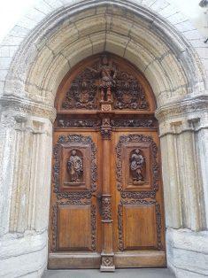 Medieval doorways