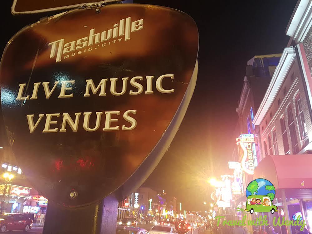 Nashville Music City Venues
