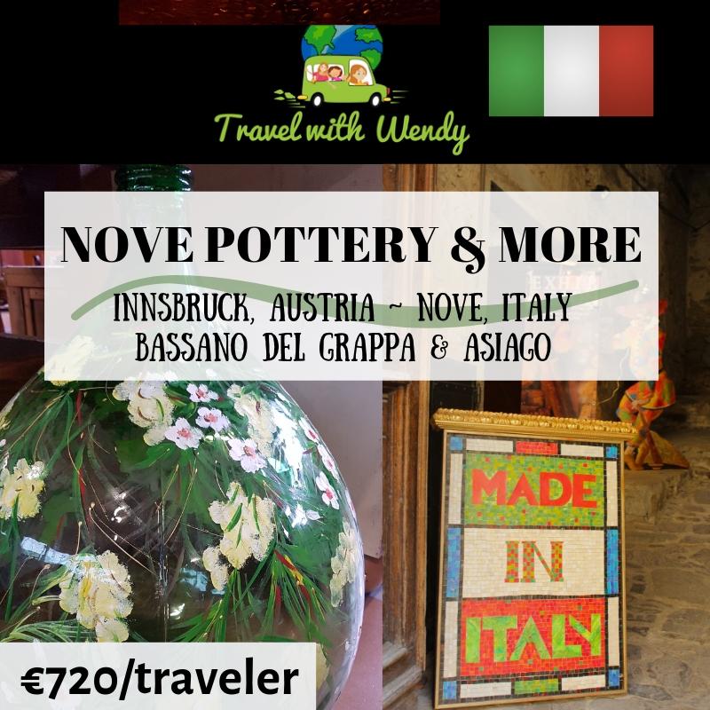 Nove Pottery & More - destination tours