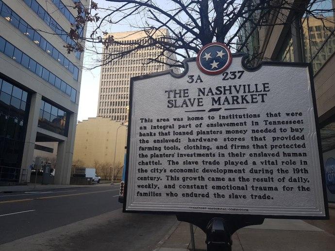 The Nashville Slave Market
