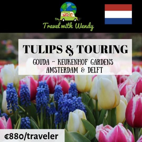 Tulips & Touring - destination tours