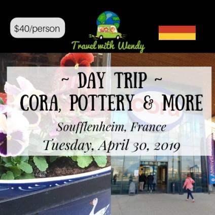 CORA DAY TRIP