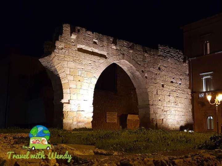Old gate of Brindisi