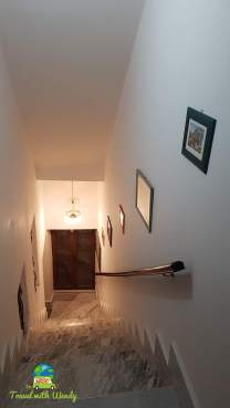 Hallway of our apartment in Brindisi