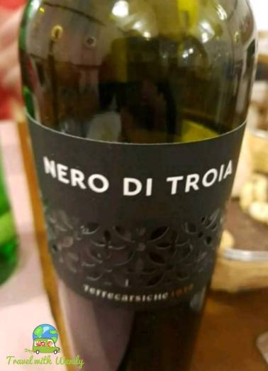 Nero di Troia - several years are good