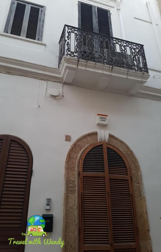 Our AirBnb in Brindisi