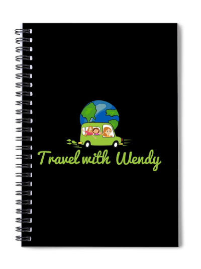 Travel with Wendy Notebook