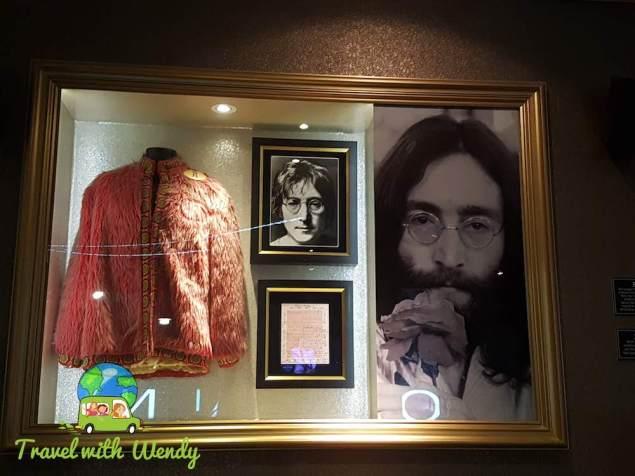 Hard Rock Helsinki - John Lennon Memorabilia
