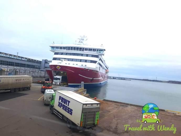 Helsinki port