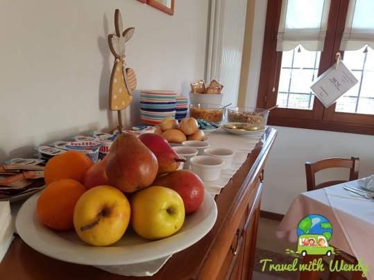 wonderful breakfasts in Nove