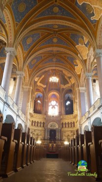 Interior Jewish Synagogue - Pilsen