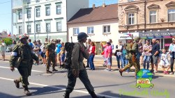 Soldier in the parade - Pilsen, Czech Republic