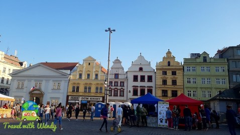 Setting up for the festivities - Pilsen, Czech Republic