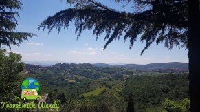 Views from our Italian mountaintop - from the Agriturismo