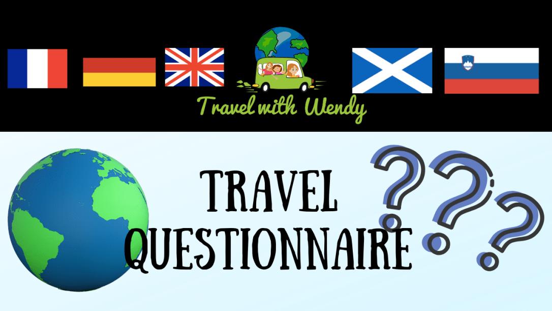 travel questionnaire