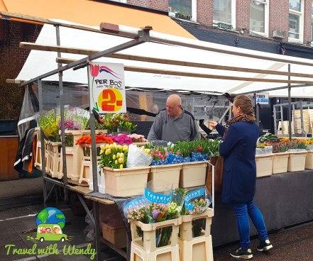 Flower Market - in the Netherlands