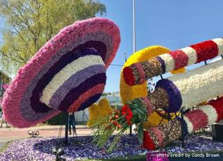 Flower floats and parade - the Netherlands