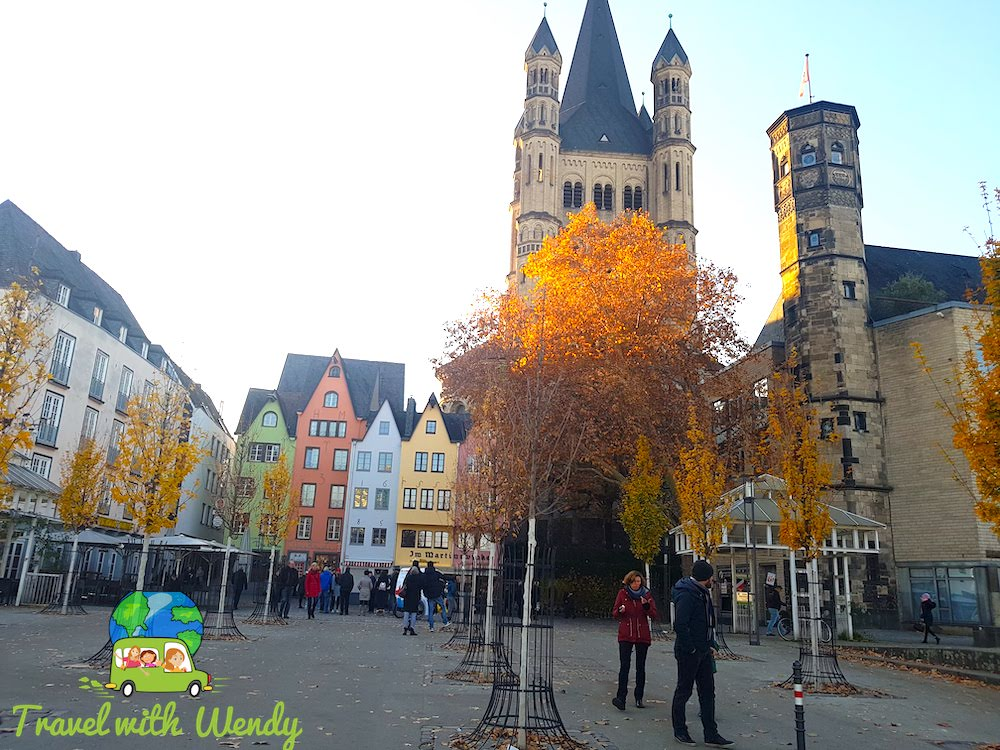 Fall colors in Cologne
