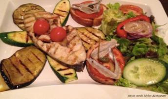 Grilled veggies at Mylos - Stuttgart Eats