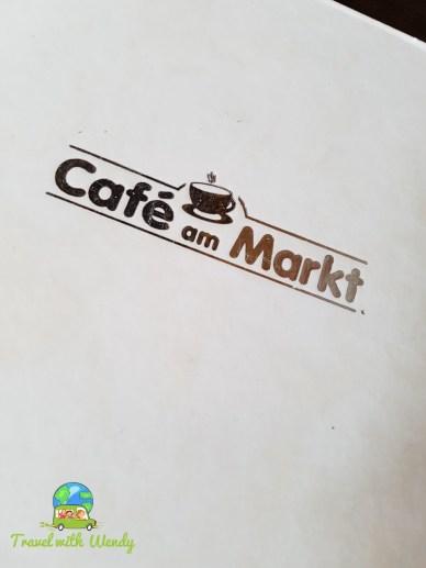 Menu at Cafe am Markt