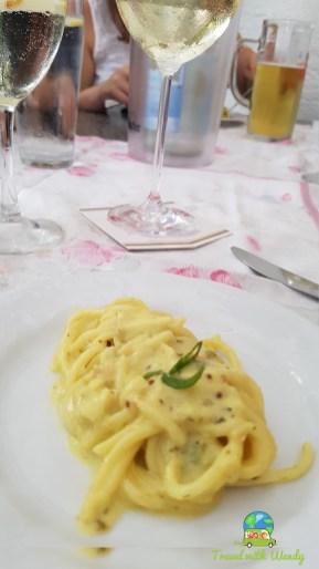 Tuna noodle pasta starter