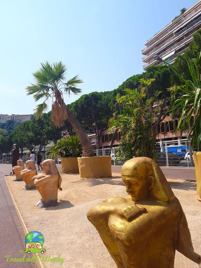 Egyptian theme - Monaco, Riviera