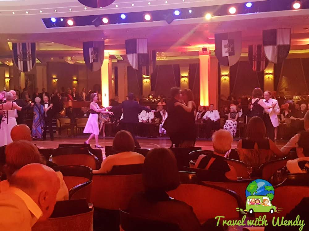 Black and White Gala - Cruise activities all the time!