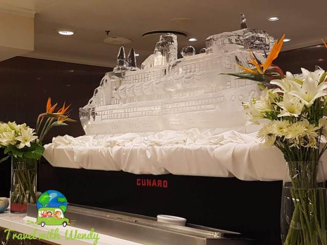 Cunard on Ice - Huge Cruise Ship