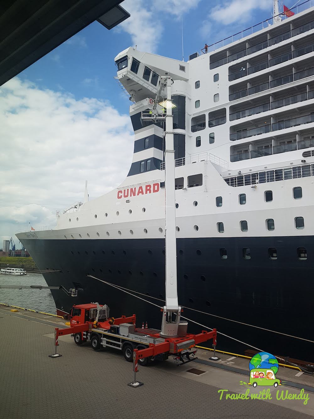 Front Bow - not your ordinary Cruise ship
