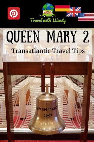 Queen Mary 2 - Transatlantic Tips