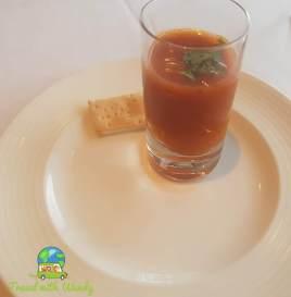 Tomato cumin starter