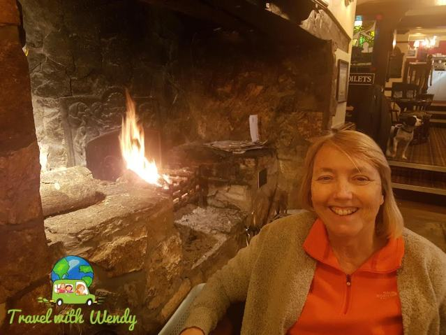 Cozy up to the fire at Kings Head Pub - North Wales