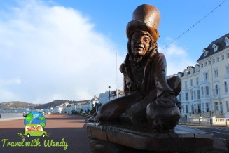 Mad Hatter along the Promenade - Wales