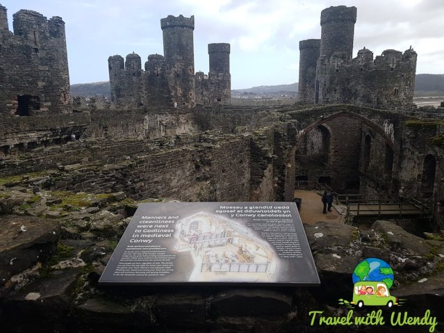 So incredibly BIG - Conwy Castle - Weekend in Wales