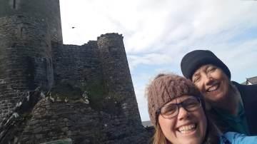 Having fun in Conwy - Weekend in Wales