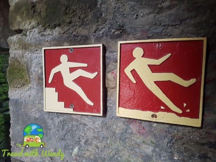 Weekend in Wales - Whoopsie Castle warnings