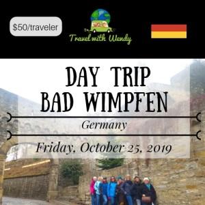 DAY TRIP - Bad Wimpfen