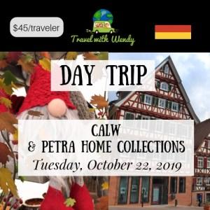 DAY TRIP - Calw & Petra Home