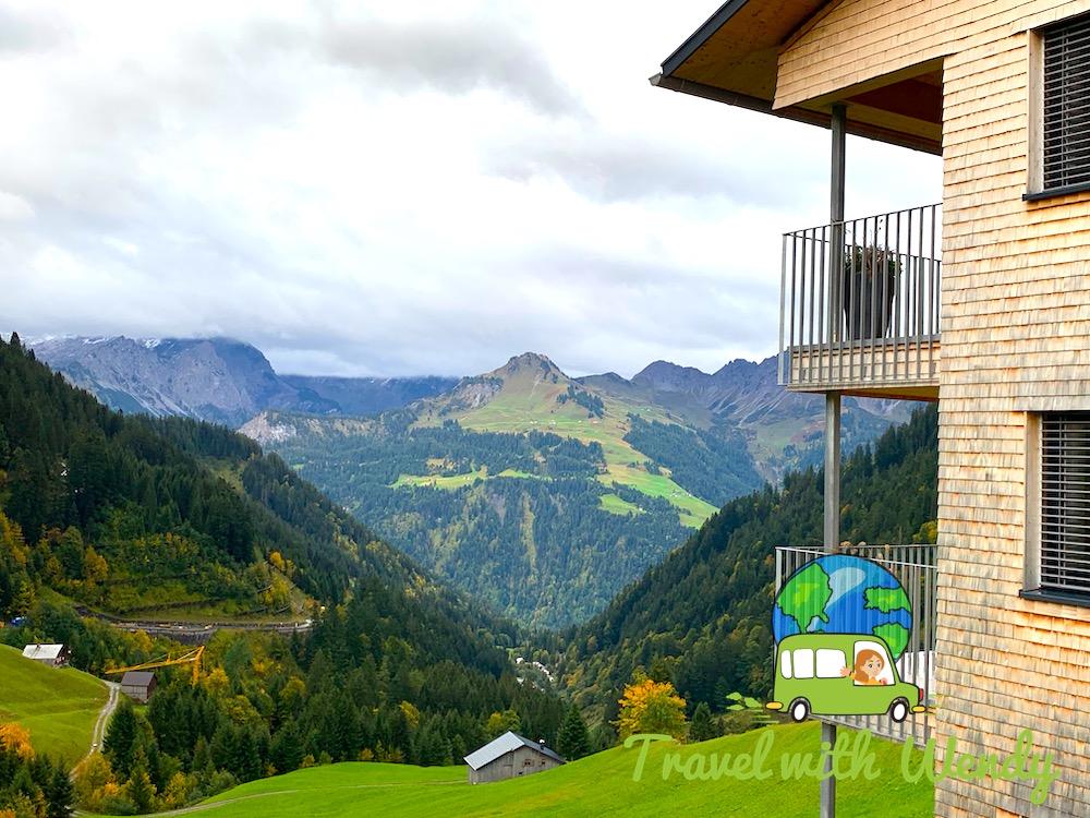 Gray skies in Austria - but still beautiful